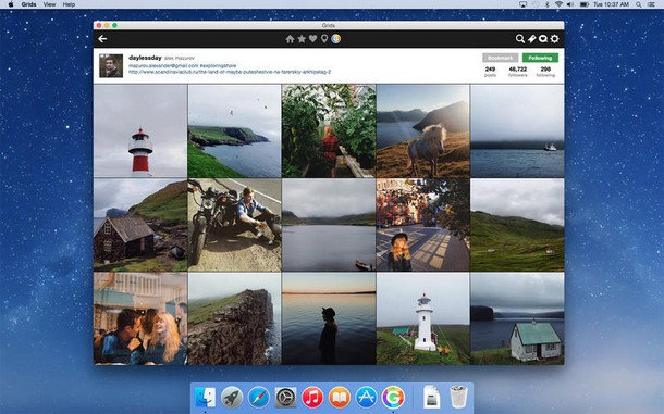 Grids — идеальный клиент Instagram для Mac OS X, Miracle, 16 окт 2014, 16:00, Grids-for-OS-X-1.0-Mac-screenshot-004.jpg