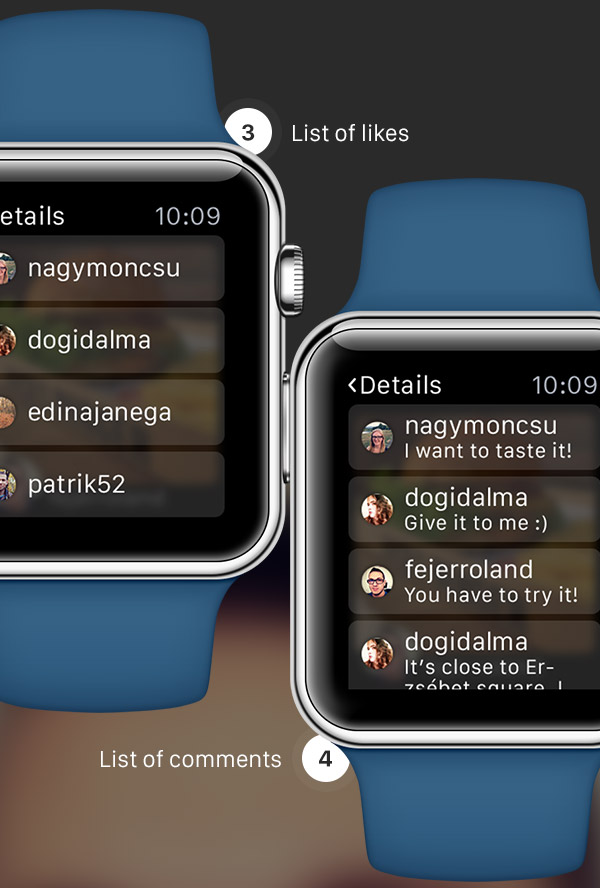 Концепт Instagram для Apple Watch, Miracle, 23 дек 2014, 15:33, instagram-Apple-Watch-5.jpg